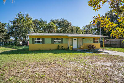 Titusville Single Family Home For Sale: 721 Rock Pit Road