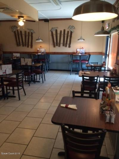 Cape Canaveral Commercial For Sale: Restaurant