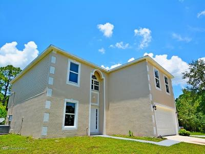 Palm Bay Single Family Home For Sale: 201 Olean Street SW