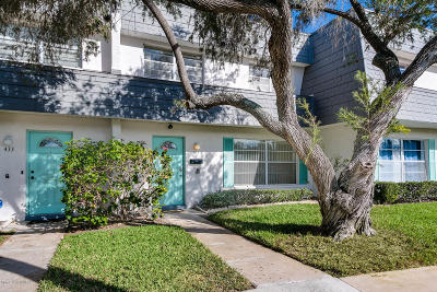 Satellite Beach Condo For Sale: 431 Dove Lane #610