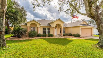 Rockledge Single Family Home For Sale: 1253 Winding Meadows Road
