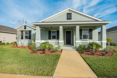 Vero Beach Single Family Home For Sale: 7210 East Village Square