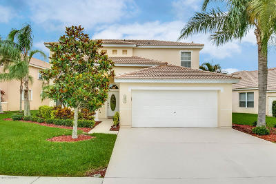 Viera, Melbourne, Melbourne Beach, Indialantic, Satellite Beach, Cocoa Beach, Eau Gallie, Palm Shores, West Melbourne, Palm Bay, Indian Harbour Beach Single Family Home For Sale: 781 Glen Abbey Way