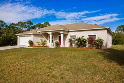 Palm Bay Single Family Home For Sale: 263 Titan Road SE