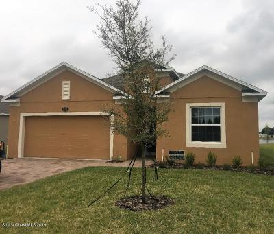 Rockledge Single Family Home For Sale: 945 Bear Lake Drive