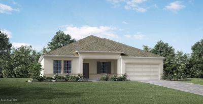 Palm Bay Single Family Home For Sale: 1635 Burgandy Street SE