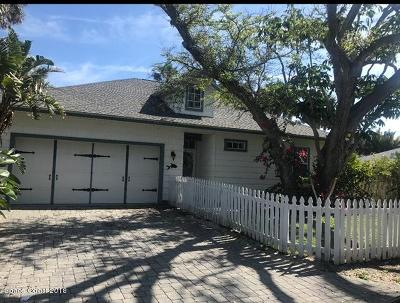 Melbourne Beach Rental For Rent: 7841 Winona Road