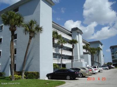 Cocoa Beach Condo For Sale: 3799 S Banana River Boulevard #918