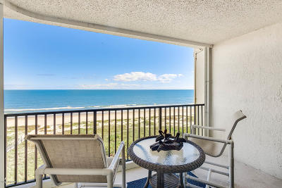 Cocoa Beach Condo For Sale: 1860 N Atlantic Avenue #802