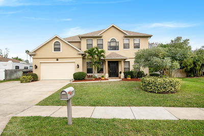 Palm Bay Single Family Home For Sale: 1027 Mandarin Drive NE
