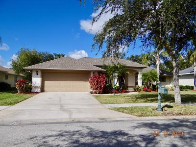 Palm Bay Single Family Home For Sale: 941 Gardenbrook Court SE