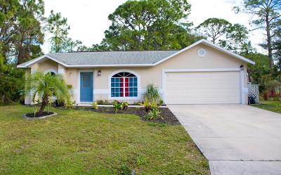 Palm Bay Single Family Home For Sale: 327 Krassner Drive NW
