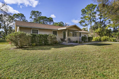 Cocoa Single Family Home For Sale: 2280 Cox Road