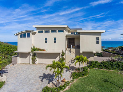 Viera, Melbourne, Melbourne Beach, Indialantic, Satellite Beach, Indian Harbour Beach, Cocoa Beach, Eau Gallie, West Melbourne, Cape Canaveral Single Family Home For Sale: 7829 Highway A1a Highway