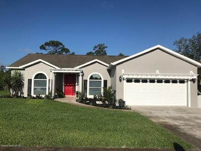 Titusville Single Family Home For Sale: 3983 Tangle Drive