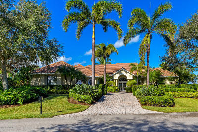Vero Beach FL Single Family Home For Sale: $845,000