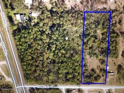 Mims Residential Lots & Land For Sale: 3660 Lionel Road