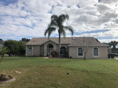 Titusville Single Family Home For Sale: 3620 Fox Wood Drive