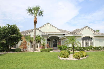 Melbourne Beach FL Single Family Home For Sale: $669,000