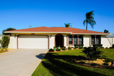 Brevard County Single Family Home For Sale: 515 Temple Street