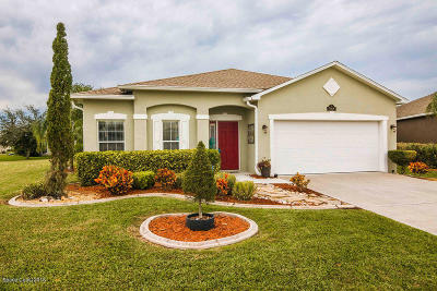 Brevard County Single Family Home For Sale: 5908 Duskywing Drive