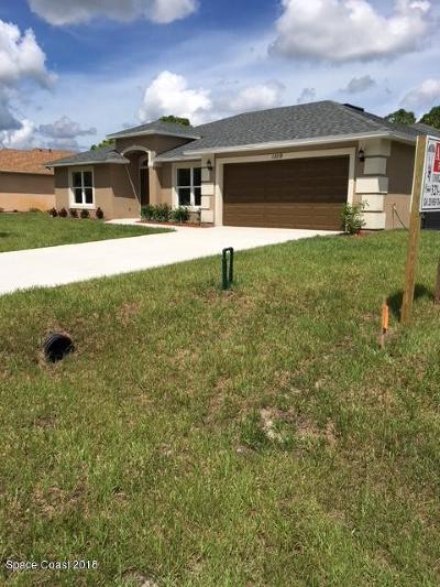 Palm Bay FL Single Family Home For Sale: $269,000