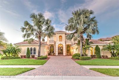 Viera, Melbourne, Melbourne Beach, Indialantic, Satellite Beach, Cocoa Beach, Eau Gallie, Palm Shores, West Melbourne, Palm Bay, Indian Harbour Beach Single Family Home For Sale: 2889 Wyndham Way