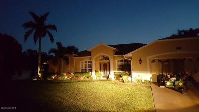 Brevard County Single Family Home For Sale: 3713 Wilson Place