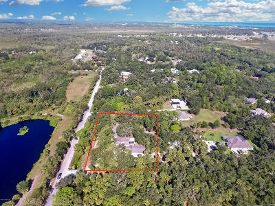 Cocoa FL Single Family Home For Sale: $499,900