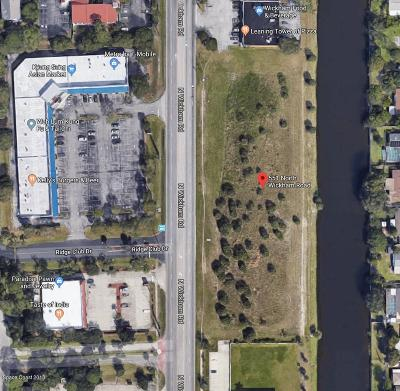 Cocoa Beach, Melbourne, Titusville, Viera Residential Lots & Land For Sale: 551 N Wickham Road