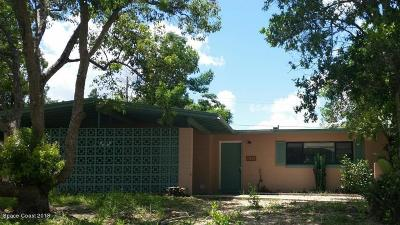 Titusville Single Family Home For Sale: 1235 Thoreau Street