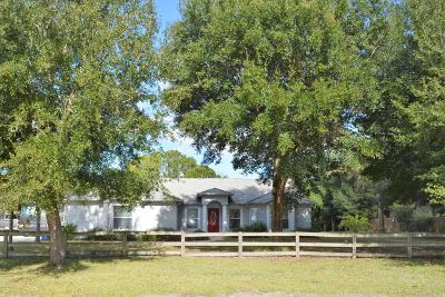 Cocoa Single Family Home For Sale: 4118 Canaveral Groves Boulevard