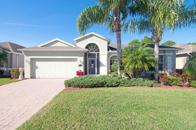 Palm Bay Single Family Home For Sale: 553 Gardendale Circle SE