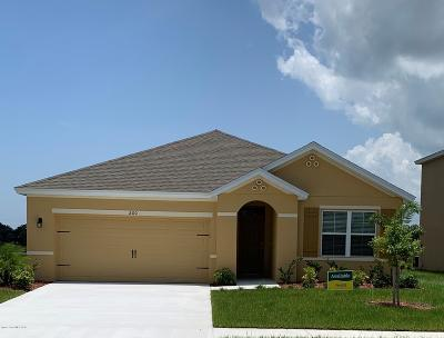 Cocoa Single Family Home For Sale: 200 Sorrento Drive