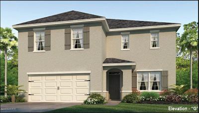 Cocoa Single Family Home For Sale: 215 Sorrento Drive