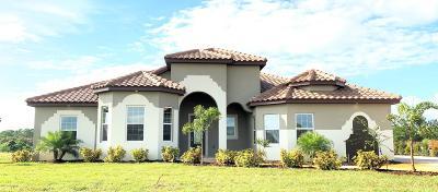 Merritt Island Single Family Home For Sale: 7298 Preserve Pointe Drive