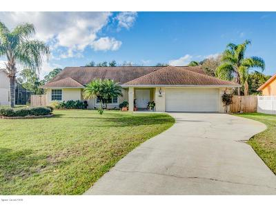 Ft. Pierce Single Family Home For Sale: 5807 Deer Run Drive