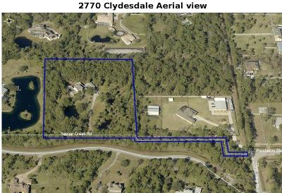Brevard County Single Family Home For Sale: 2770 Clydesdale Boulevard