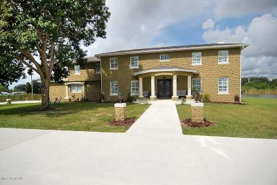 Brevard County Single Family Home For Sale: 1445 Martin Road