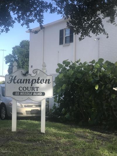 Merritt Island Condo For Sale: 55 Needle Boulevard #79
