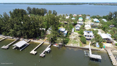 Grant Valkaria Single Family Home For Sale: 12 Vip Island #A
