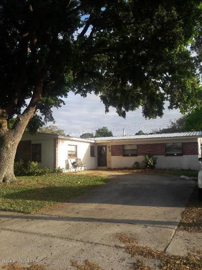 Rockledge Single Family Home For Sale: 1081 Coronado Drive