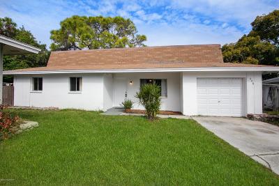 Merritt Island Single Family Home For Sale: 438 Via Palermo Court