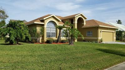 Merritt Island Single Family Home For Sale: 200 Sykes Point Lane