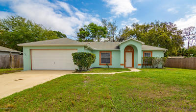 Cocoa Single Family Home For Sale: 7045 Song Drive