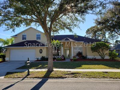 Palm Bay Single Family Home For Sale: 1992 Windbrook Drive SE