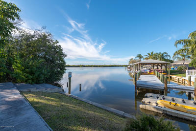 Cocoa Beach Single Family Home For Sale: 10 Danube River Drive
