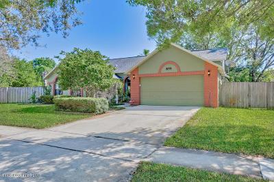 Rockledge Single Family Home Pending: 855 Yorktowne Drive