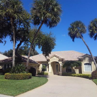 Melbourne Beach FL Single Family Home For Sale: $619,000