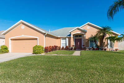 Rockledge Single Family Home For Sale: 361 Castlewood Lane